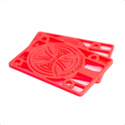 """Skateboard Indipendent Riser Pad 1/8"""" red"""
