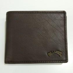 Portafogli Billabong Arch ID in Pelle marrone