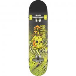 "Skateboard Completo Globe G1 Nature Walk 8.125"" black toxic yellow"