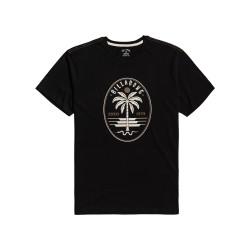 T-shirt Billabong snake set ss black