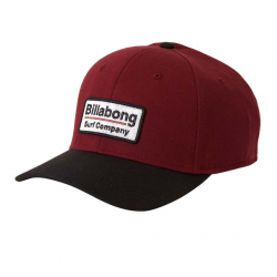 Cappellino Billabong walled stretch burgundy