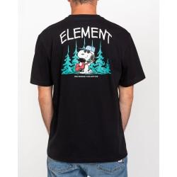 T-shirt Element peanuts good times ss back