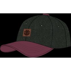 Cappellino Element treelogo cap off black