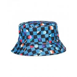 Cappello Element tam bucket hat blue print