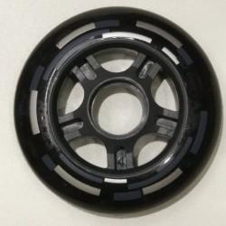 Ruote Pattini Roces 80mm 82A black