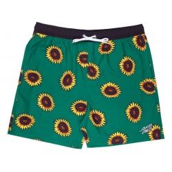 Costume Santa Cruz Volley Sunflowers Swimshort green 1