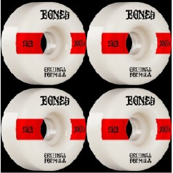 Ruote Skateboard Bones 52mm 100's OG Formula V4 (4pz)