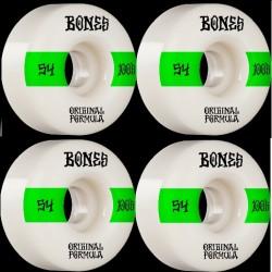 Ruote Skateboard Bones 54mm 100's OG Formula V4 (4pz)