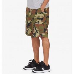 Pantaloni Corti DC Shoes Cargo Short camo side