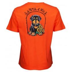T-Shirt Santa Cruz Dressen Dog House back
