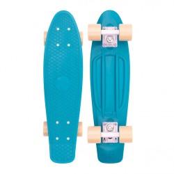 "Skateboard Penny Mini Cruiser 22"" turquoise up bottom"