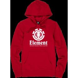 Felpa Element vertical ft hood